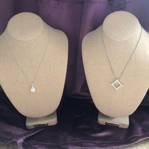 Set of 2 Fashion Pendant Necklaces